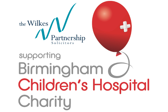 Birmingham and Solihull law firm The Wilkes Partnership is lending support to Birmingham Children's Hospital