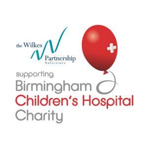 Wilkes gets behind Birmingham Children's Hospital Charity