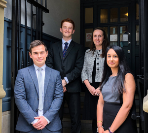 Three Former Trainees Qualify Into NQ Positions At Wilkes