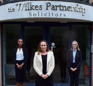 Charlotte Line, Corporate Solicitor Birmingham, Naomi Ramsay, Private Client Solicitor Solihull, The Wilkes Partnership